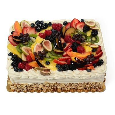 Astonishing Fruit Cake From Whole Foods The Cake Boutique Personalised Birthday Cards Cominlily Jamesorg
