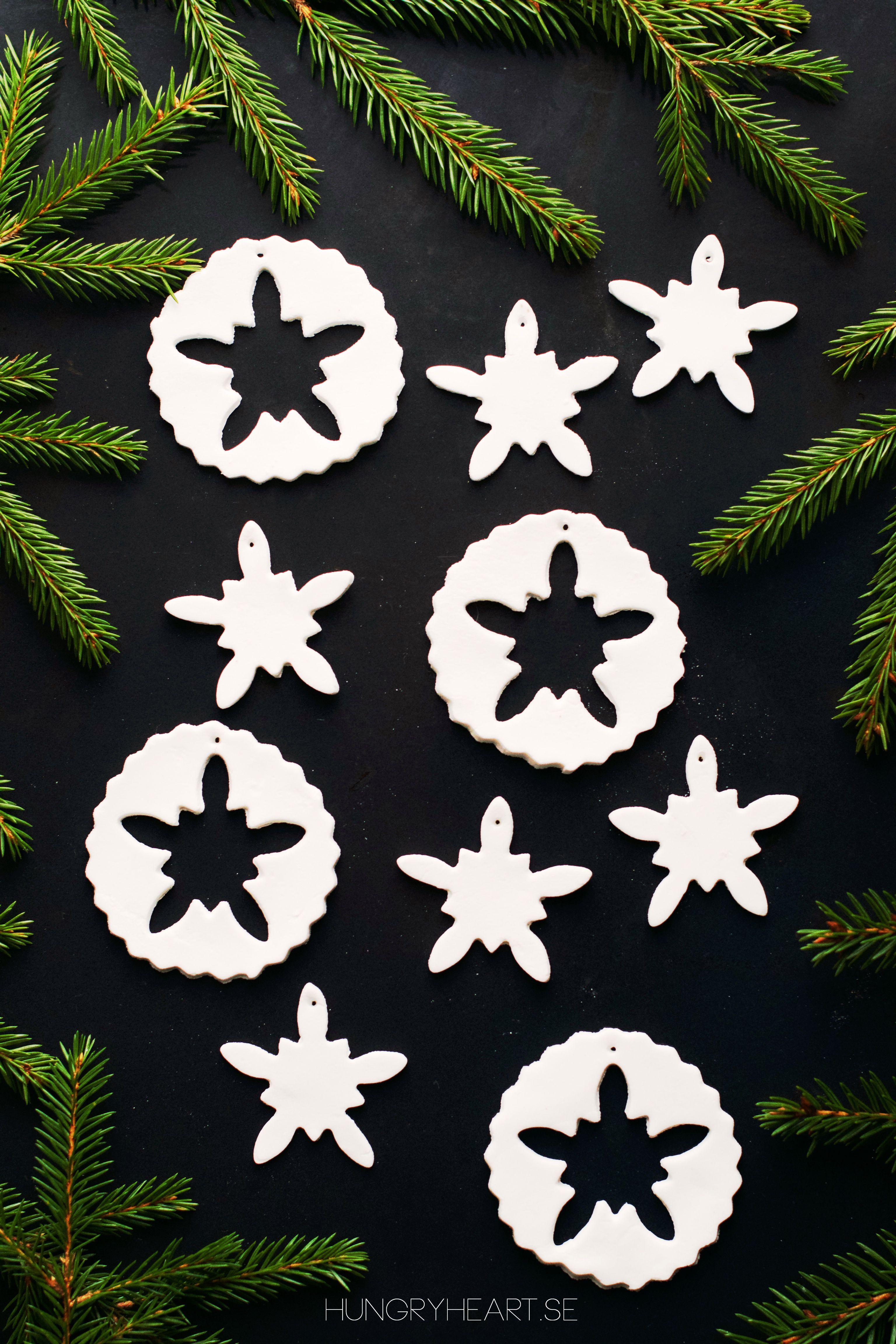 Diy Homemade Air Dry Clay Ornaments Jul