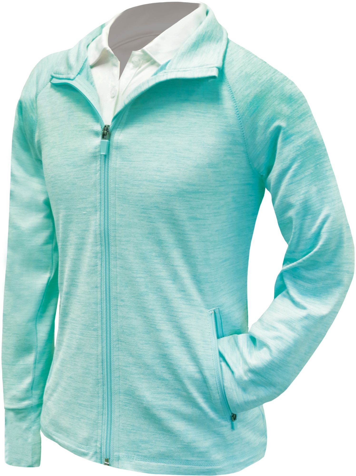 Garb Girls Jordan Golf Jacket Size Small Blue Golf Jackets Golf Outfit Jackets