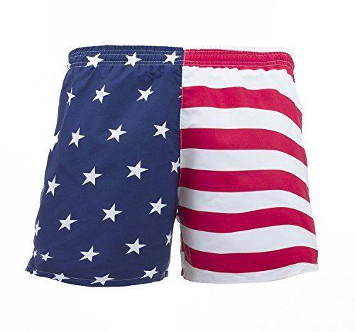 Men S American Flag Swim Trunks Swim Trunks Trunks Man Swimming