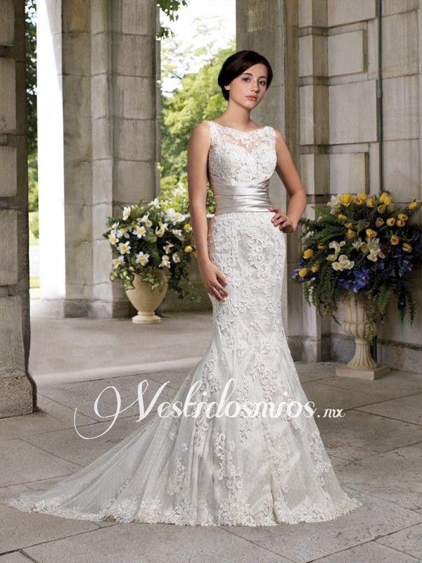 Sirena vestidos de novia de encaje | futuro | Pinterest | Novia de ...