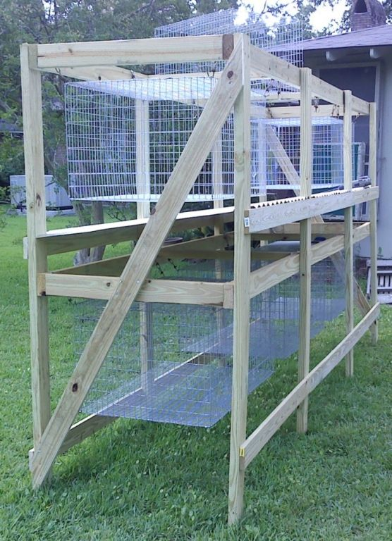 Hanging cages really like these they 39 re very similar to for Pvc rabbit cage