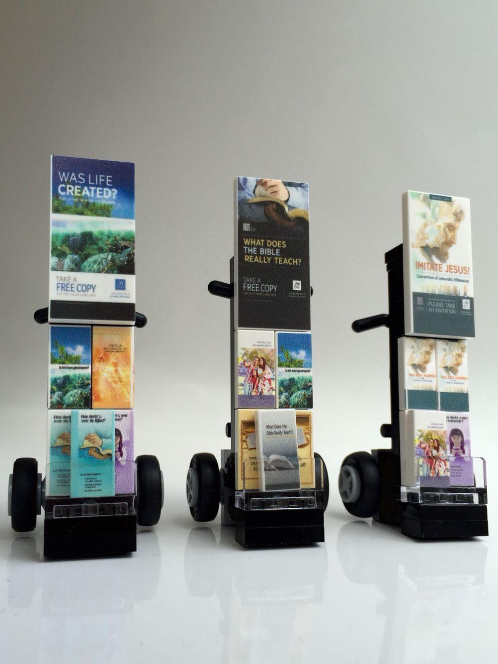 Jehovah S Witness Toy : Final result custom jw lego cart pinterest