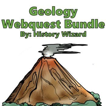 Geology Webquest Bundle in 2020 | Webquest, Geology ...