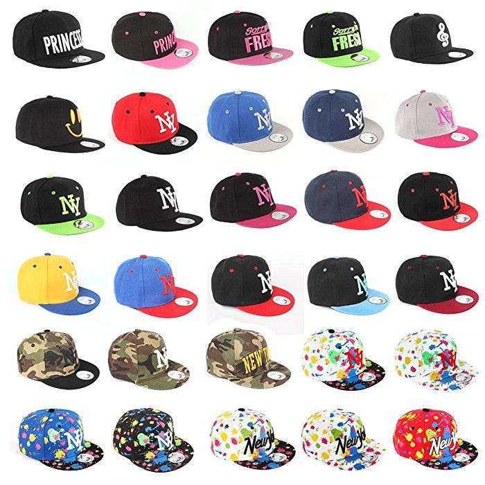 769d4533e547 Johnny Chicos NY New York süße Kindercap Kinder Cap Snapback 46-56cm  Kopfumfang (One