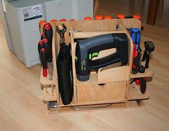 werkzeugkisteneinsatz f r einen gro en systainer werkzeugkiste werkzeugbox atelier mobile. Black Bedroom Furniture Sets. Home Design Ideas