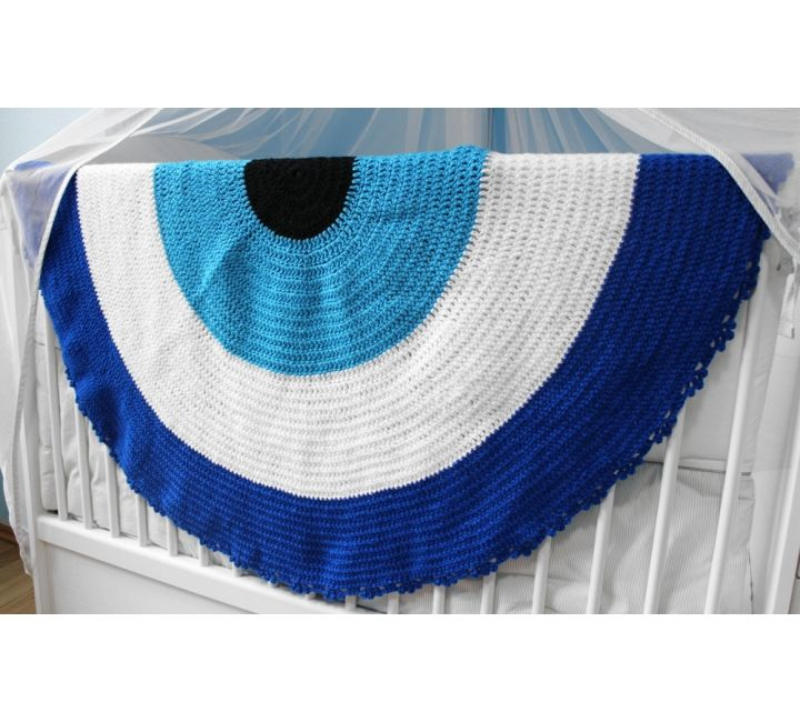 Crochet Evil Eye Baby Blanket Unique Evil Eye Jewelry Designs