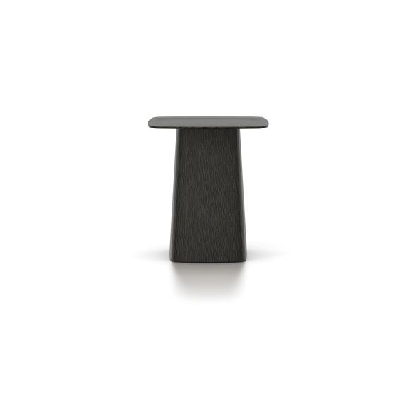 Side Table Donker Eiken.Wooden Side Table Middelgroot Donker Eiken Vitra Design