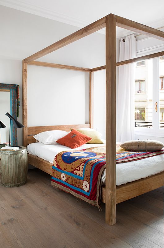 4 Poster Wood Bed Part - 17: Image Result For Four Poster Scandinavian Bed