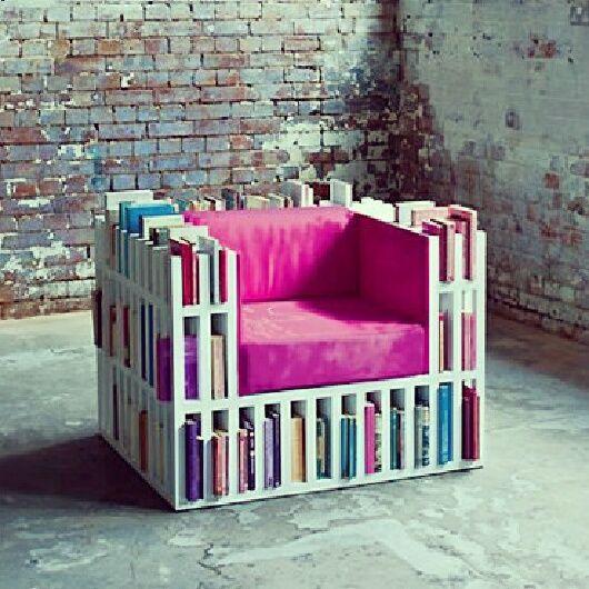 Another cool book shelf idea