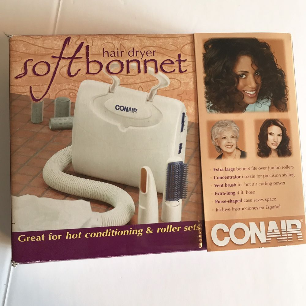 Soft Bonnet Hair Dryer Vent Brush Portable