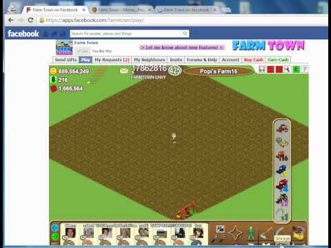 Farmtown Receive Unlimited Gifts High Speed Youtube Farm Town