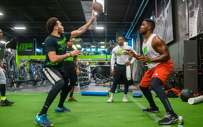 Dominate the Combine Complete Off Season Football Workout