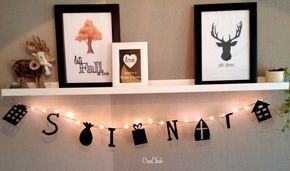 Photo of DIY Weihnachtsmann Girlande – CreaChick