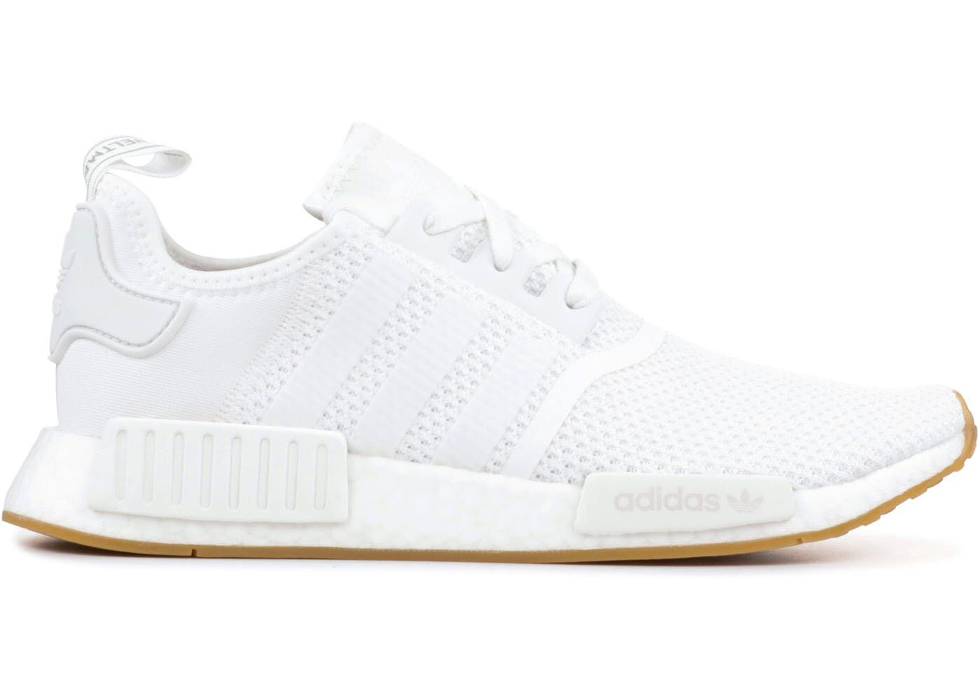 Check out the adidas NMD R1 White Gum