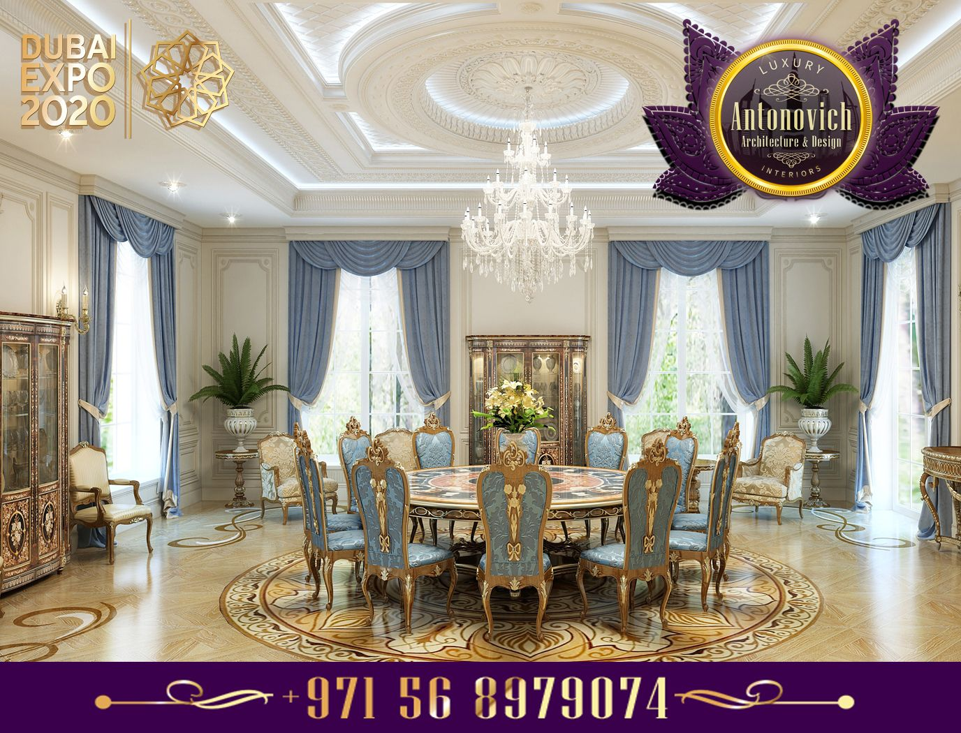You can have a look at our lavish women majlis designs in the gallery -  Luxury Interior Design Dining Room Antonovich Design Ae Architecture Design Interior Pinterest