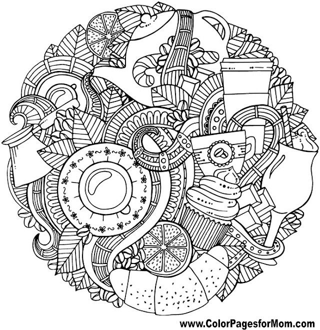 Advanced Coloring Pages for Adults autumn | Doodles 8 Advanced ...