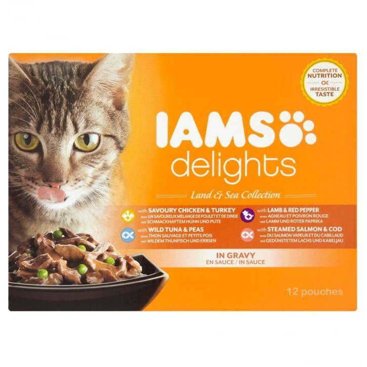 Free iams delights cat food gratisfaction uk cat food
