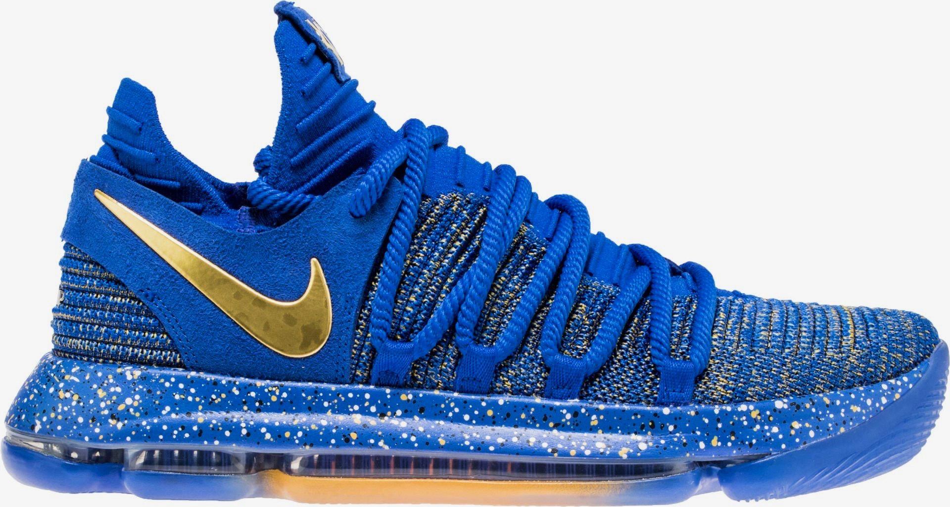 #Golden StateWarriors All-Star #KevinDurant introduces his Nike KD 10  Finals shoes.