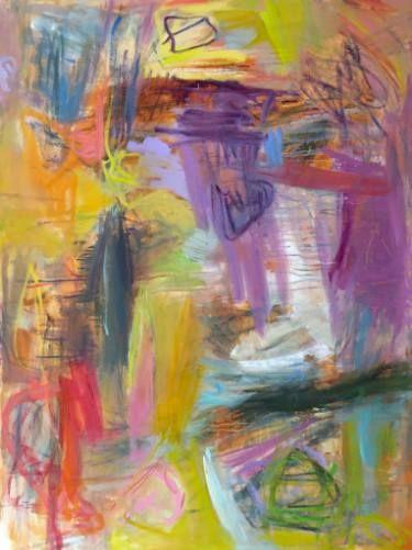 "Saatchi Art Artist Trixie Pitts; Painting, ""A Little Rain 2016"" #art"
