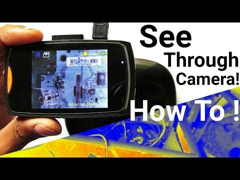 Diy How To Make See Through Infrared Thermal Imaging Camera For Cheap In Just 10 Thermal Imaging Camera Thermal Imaging Covert Cameras