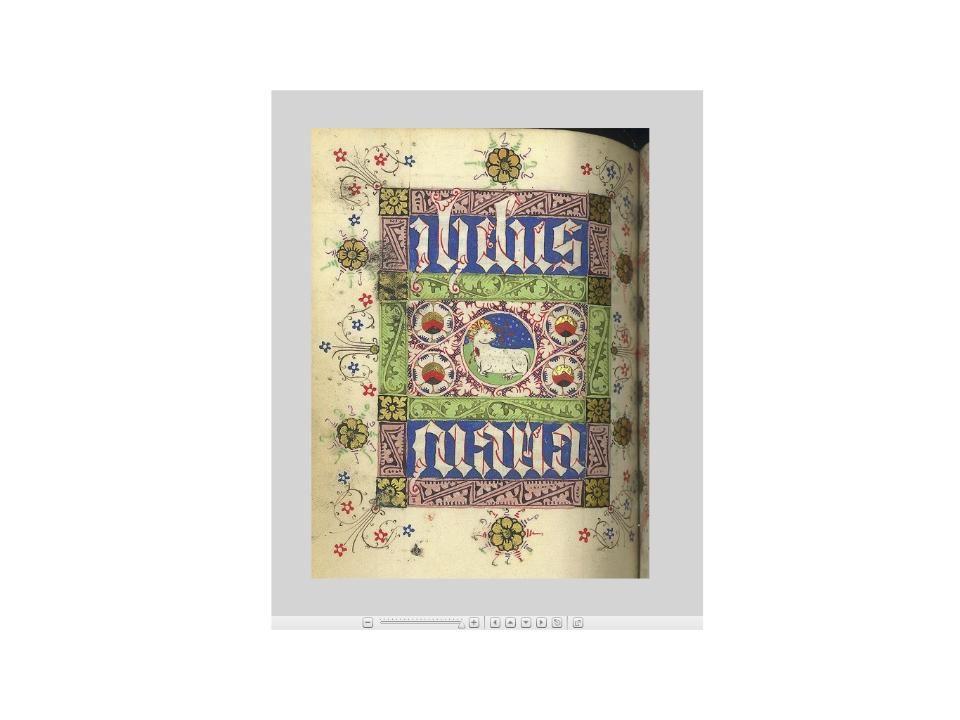 """Boekfragment """"Folio 105 V uit een latijnse kalender, gebeden en zeven boetpsalmen"""" handschrift op perkament, circa 1450 http://www.collectiegelderland.nl/organisaties/huisbergh/voorwerp-0269-210 nummer0269-210"""