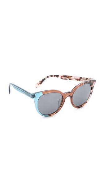 Fendi Pattern Fade Sunglasses