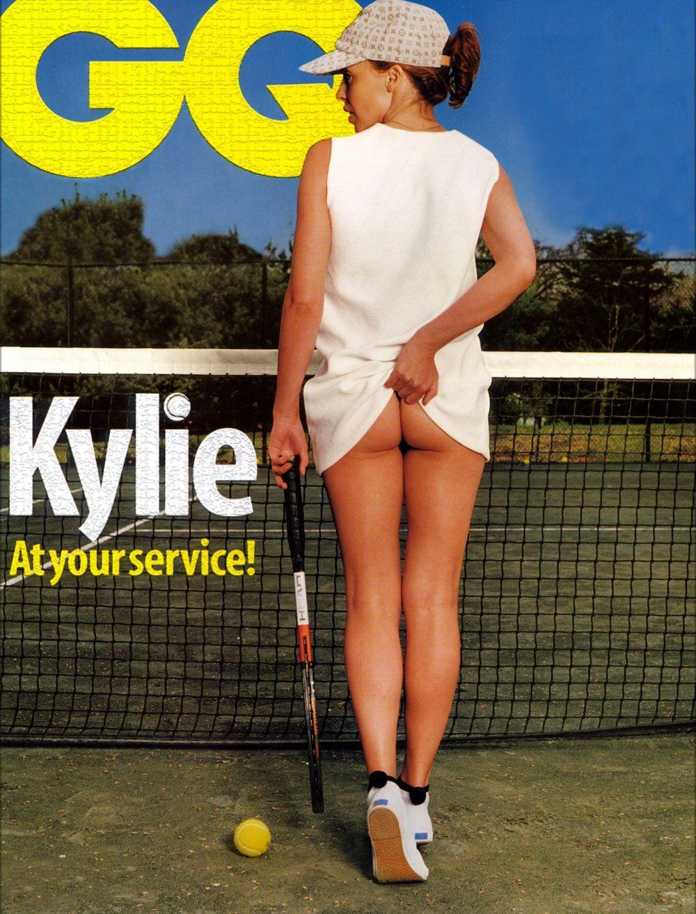 minogue tennis girl Kylie