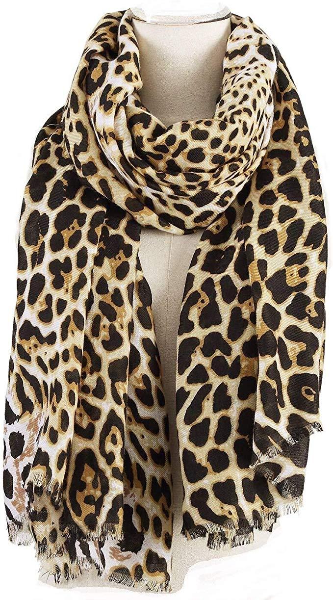 1pc Fashion Women Scarf Cute Animals Panda Print Voile Scarves Shawl Soft Lightweight Long Scarfs Wraps for Autumn Winter