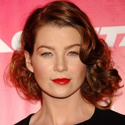 Curly Hairstyles - Ellen Pompeo from #InStyle | Hairstyles for women ...