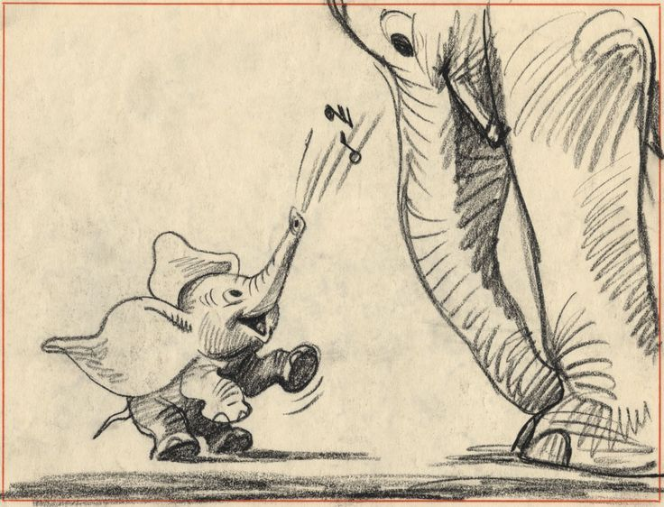 Storyboard from Dumbo (1941) cartoon Pinterest Storyboard - visual storyboard