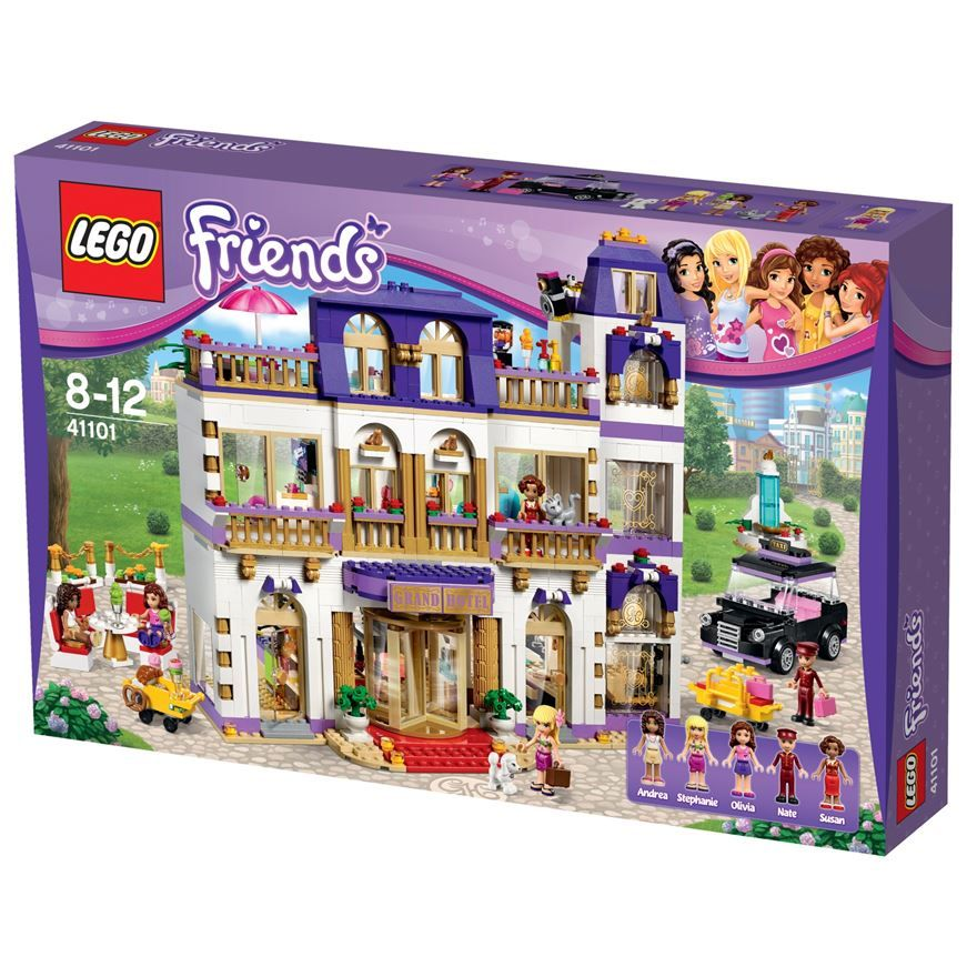 LEGO Friends Heartlake Grand Hotel 41101 | Our Favourite Lego ...