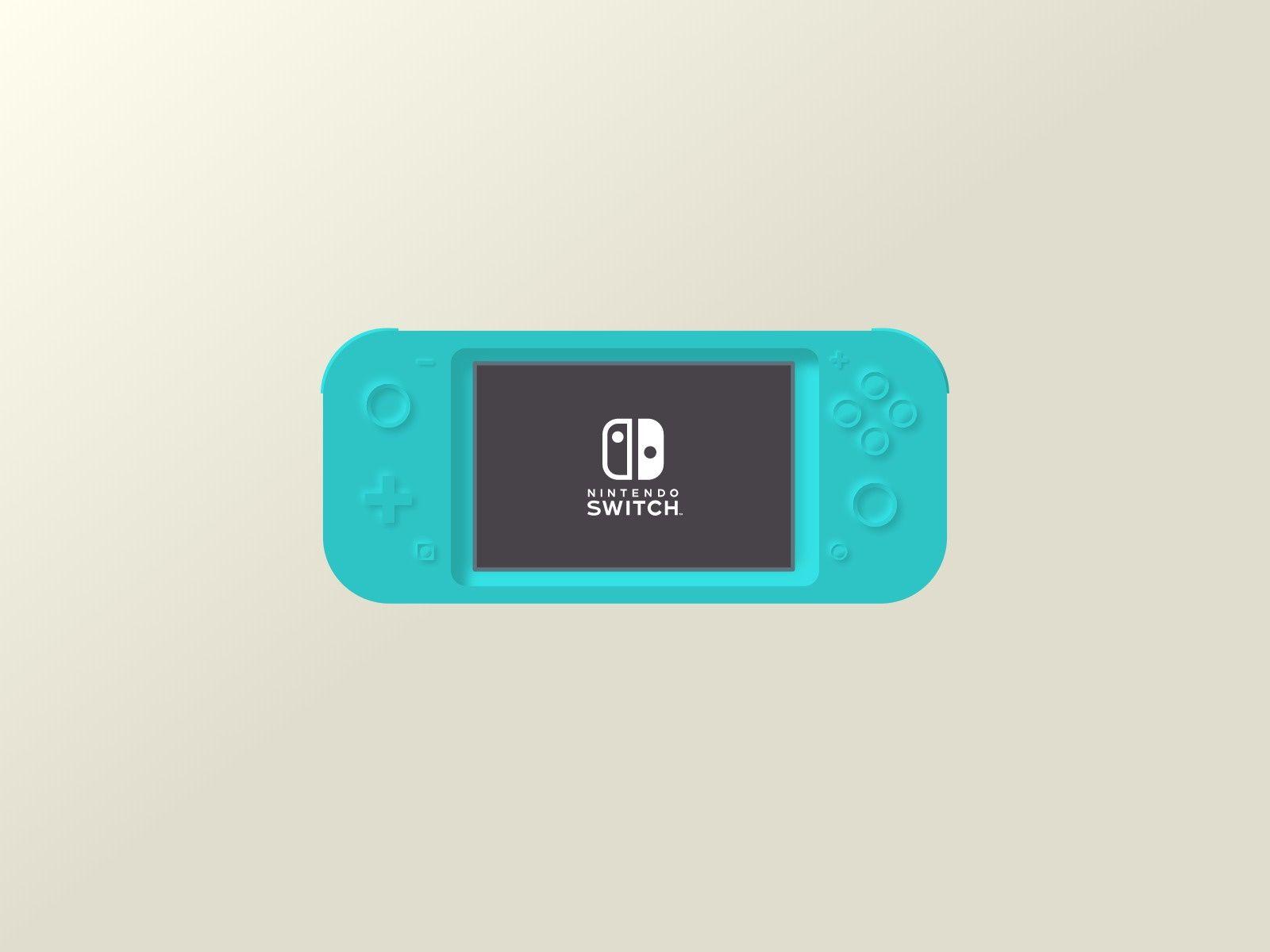 Nintendo Switch Neumorphic Design