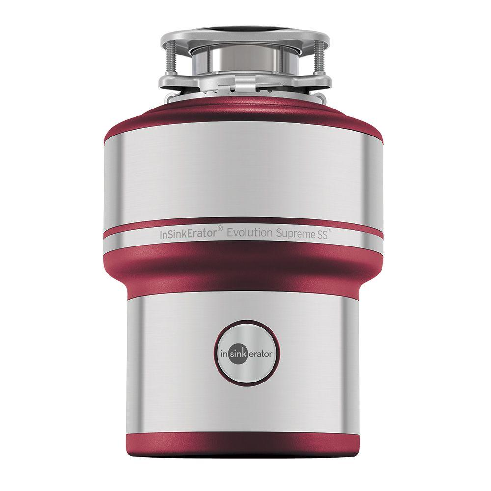 InSinkErator Evolution Supreme Stainless Steel 1 HP Continuous Feed ...
