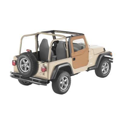Bestop Spice Full Fabric Doors For 1997 2006 Wrangler Tj 51789 37 The Home Depot In 2020 Wrangler Tj Wrangler Jeep Wrangler