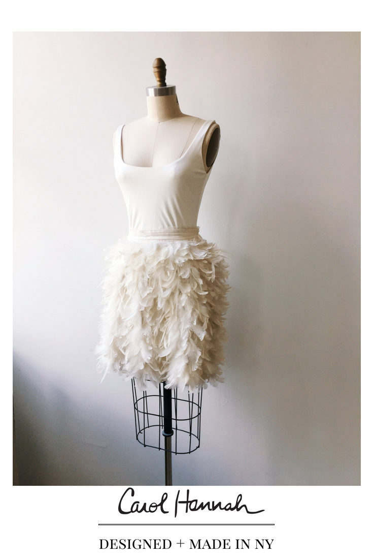 Little white wedding dress  Flights of Fancy Skirt  Carol Hannah Flagship  Pinterest  Short
