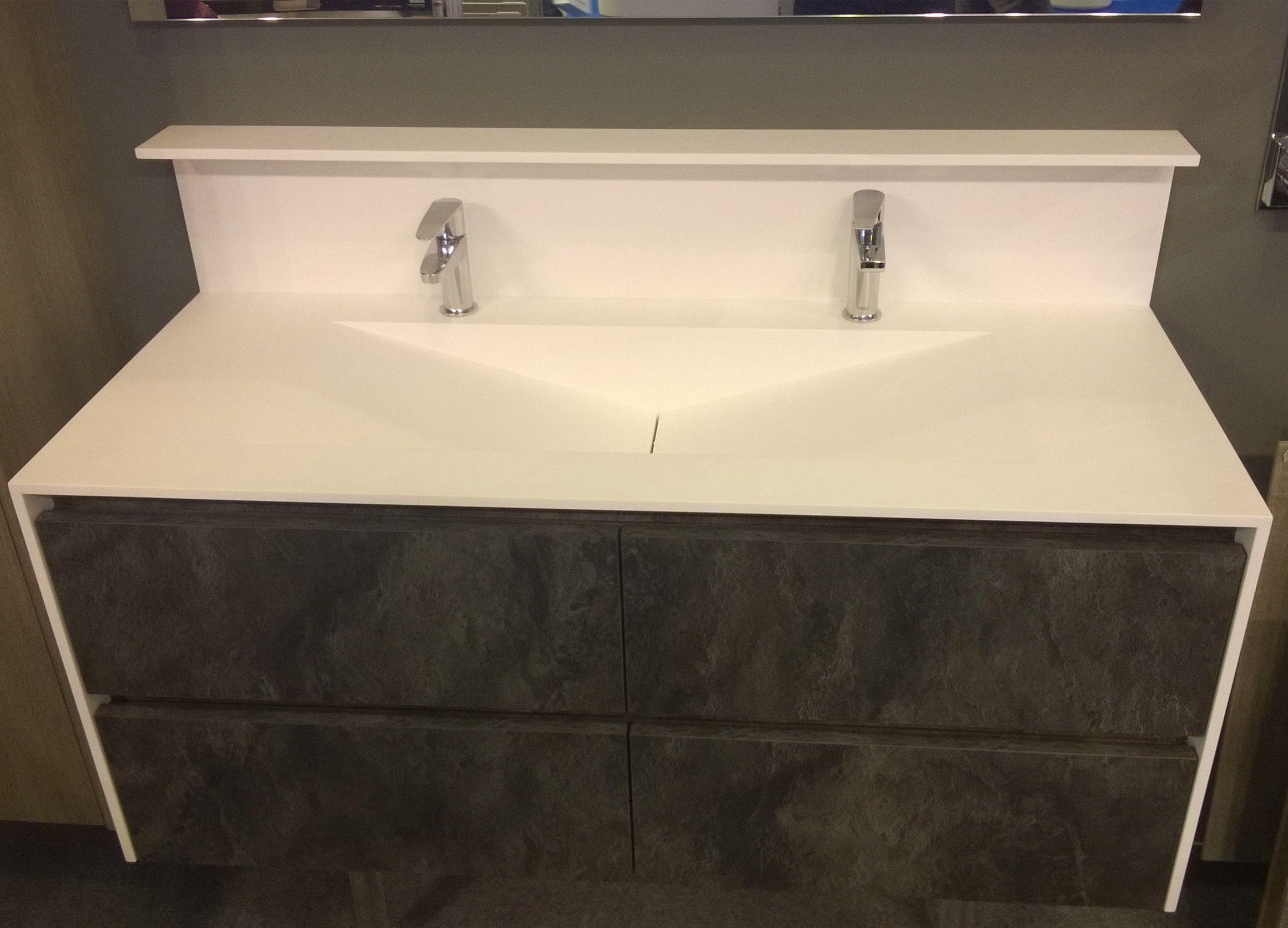 Meuble Design Avec Plan Vasque Varicor Equipements Sanitaire  # Plan Des Meubles