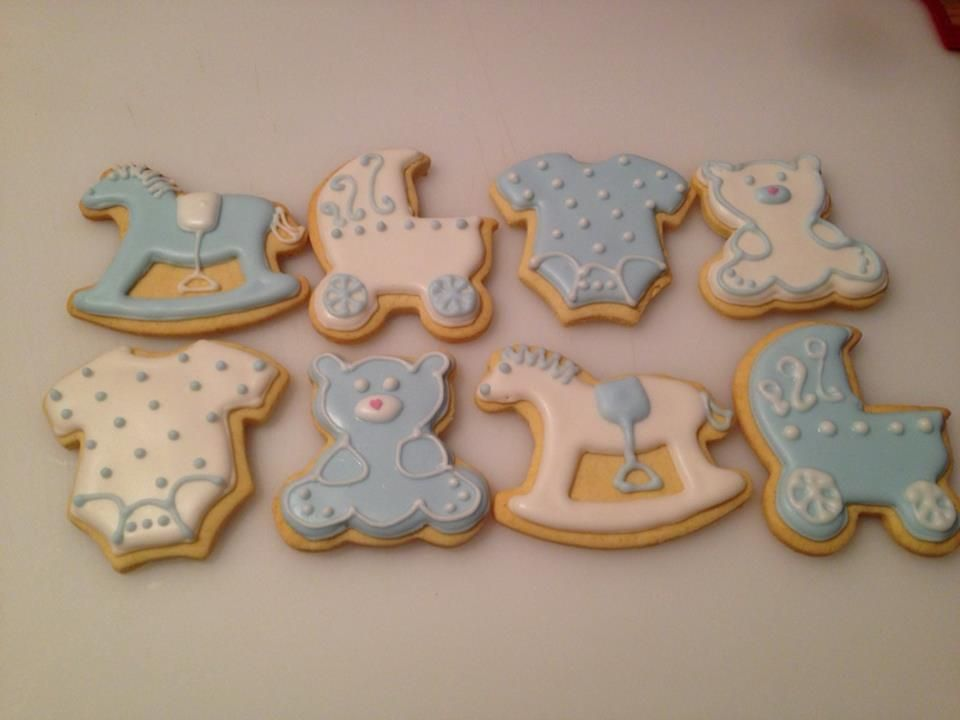 Baby Shower Cookies Boy ~ Baby boy shower cookies wot i made