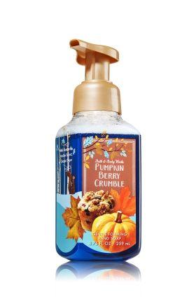 Pumpkin Berry Crumble Gentle Foaming Hand Soap Bath Body