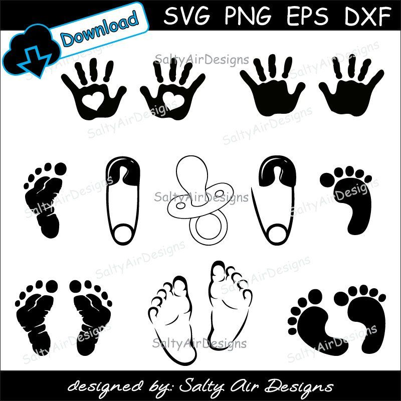 10++ Baby feet clipart black and white ideas in 2021