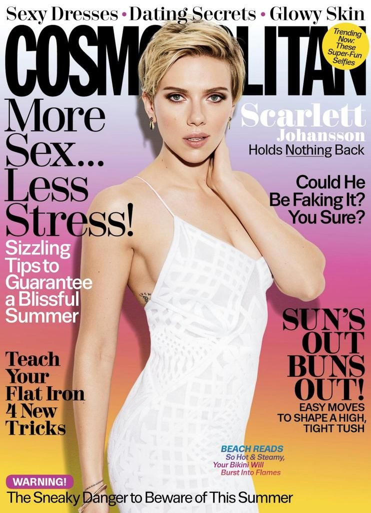 Scarlett Johansson coves Cosmopolitan US - July 2017  3539e86d265f