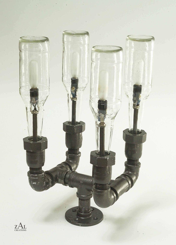 Pole Lamp Beer Bottles Plumbing Pipe Amp Fittings Pole