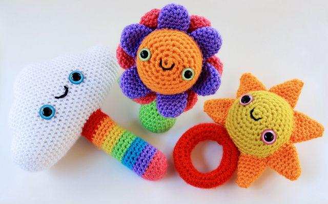 Amigurumi Stuffing Alternatives : cutest amigurumi rattles ever! CROCHET hacks ...