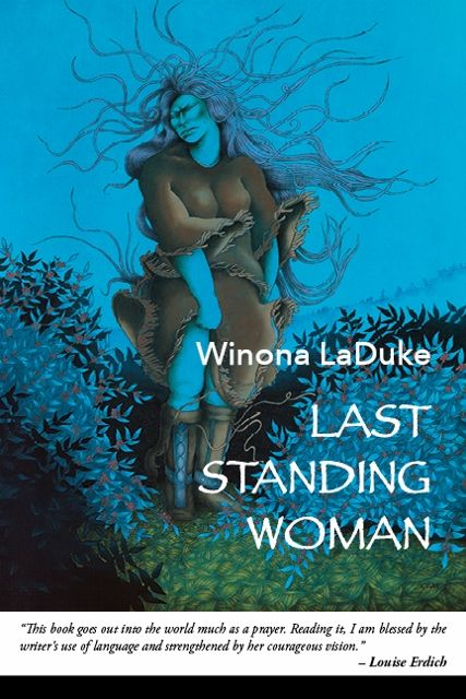 """Last Standing Woman, highlighted quote: """"She told her"""