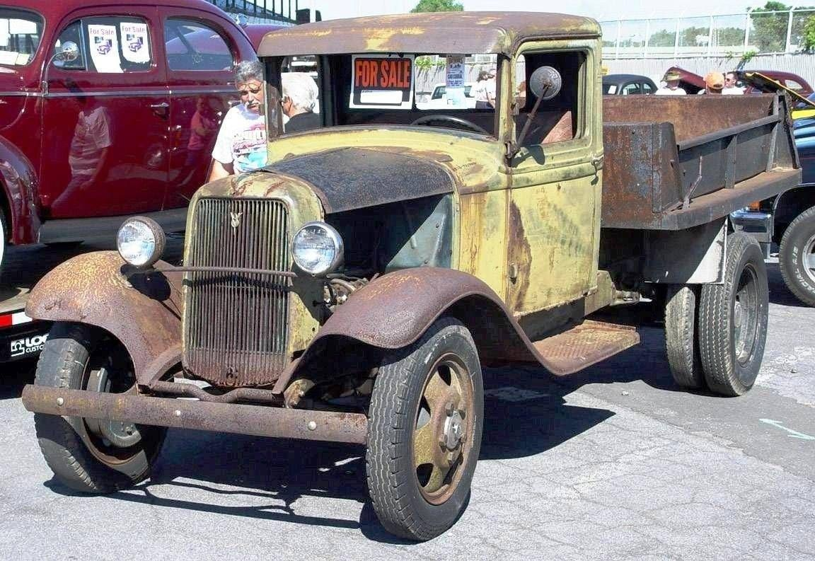 1934 MODEL - FORD PICKUP UNRESTORED - It\'s beautiful!!! It needs a ...