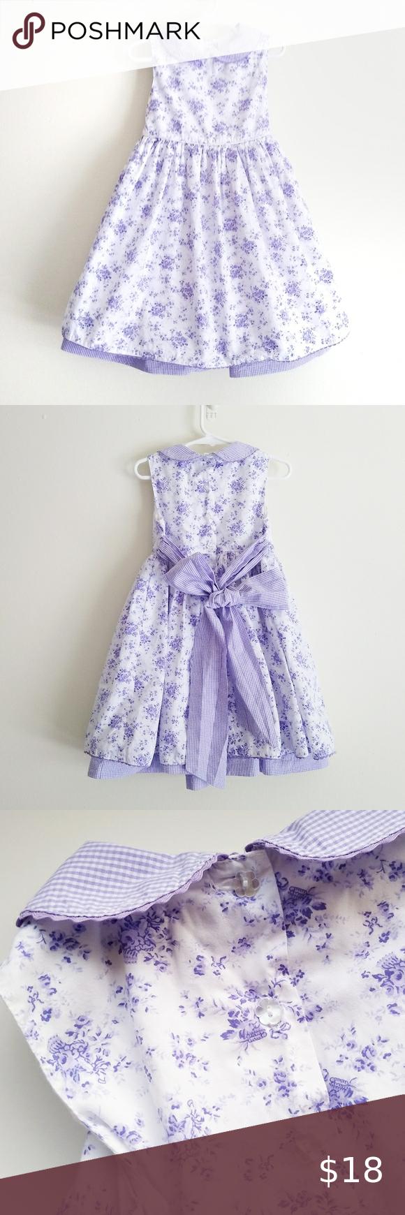 Polly Friends Floral Dress 4t White Purple 4t Dress Floral Dress Dresses [ 1740 x 580 Pixel ]