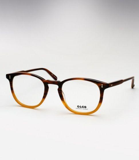 96447ad7db Garrett Leight Kinney - Dark Caramel Gradient (Eye)
