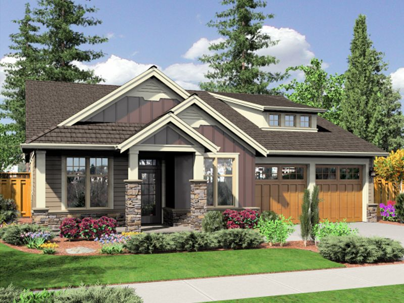 Mountain Hollow Bungalow Home Rustic Craftsman Design With Bungalow