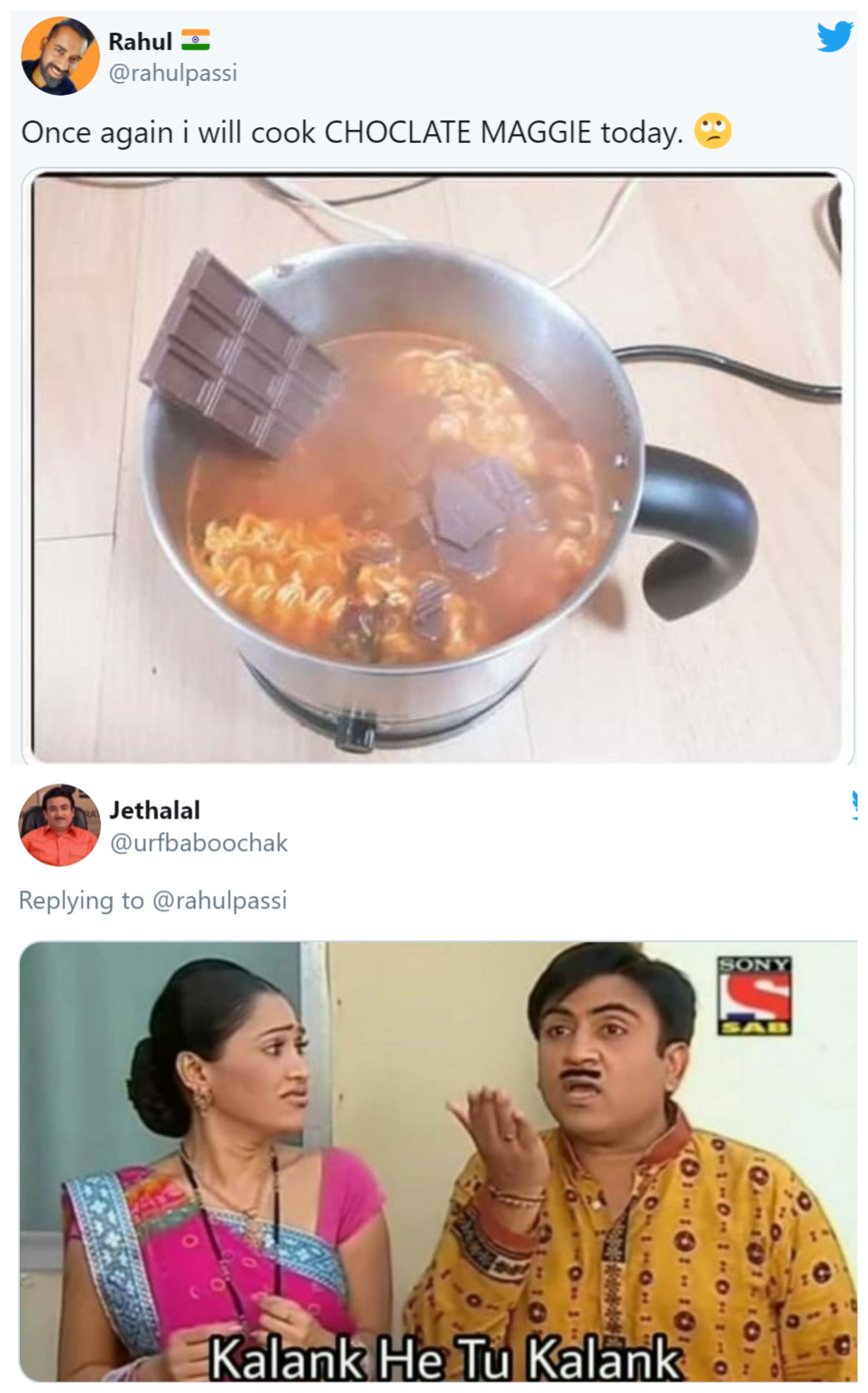 Twitter Says Tauba Tauba After A User Posted Chocolate Maggi Recipe