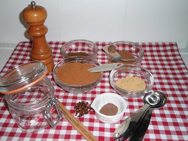 mezcla para postres de calabaza